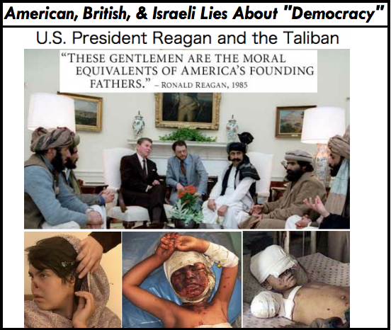 "US, British, and Israeli ""Democracy"" - The Big Lie"
