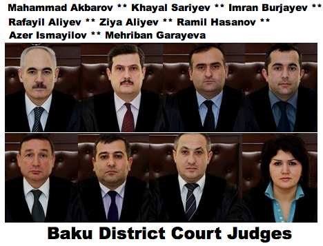 http://en.wikipedia.org/wiki/Talysh_people    Baku District Court Azerbaijan
