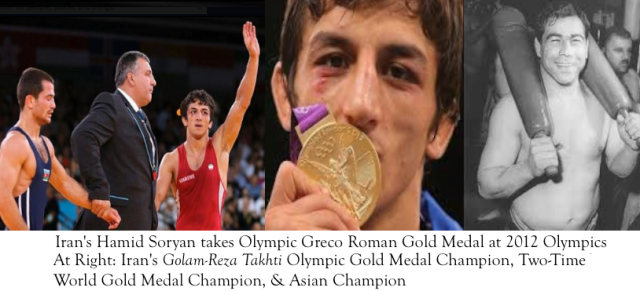 Hamid Soryan Takes Wrestling Olympic Gold Medal - قهرمان المپیک / کشتیگیری