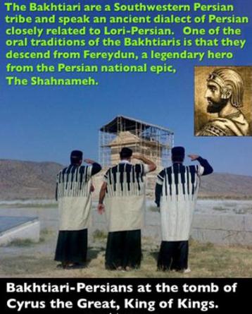 Bakhtiari Persians