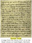 Avestan Script